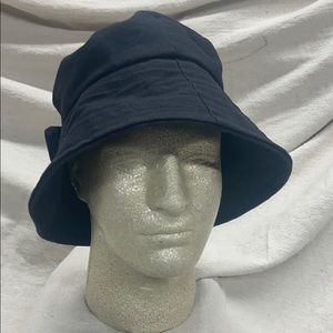 VINTAGE DEBORAH RHODES MOCHA-Crushable Hat-Black